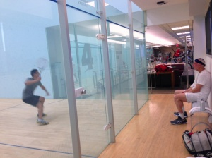 Watching some CityView Doubles