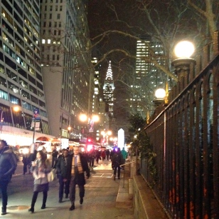 42nd Street on a Winter's Night