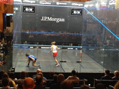 Raneem El Welily vs. Laura Massaro, ToC Semifinals 2015