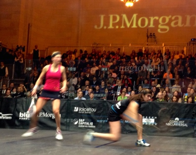 Nour El Sherbini vs. Allison Waters, ToC Semifinals 2015