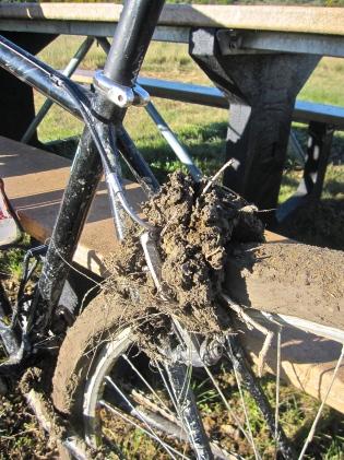 muddy frame